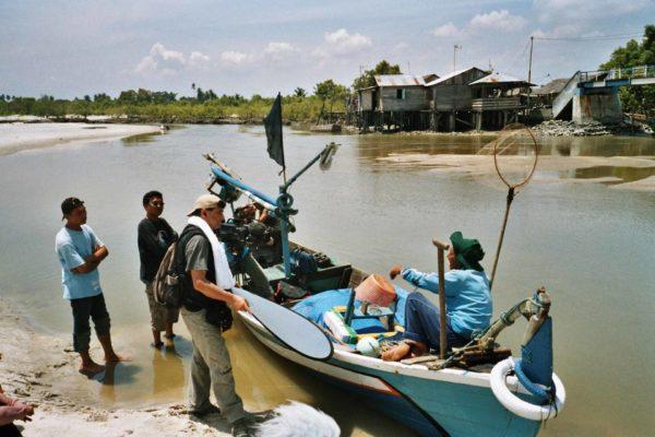 Dreh-Boot-Indonesien-Anthony-quinn
